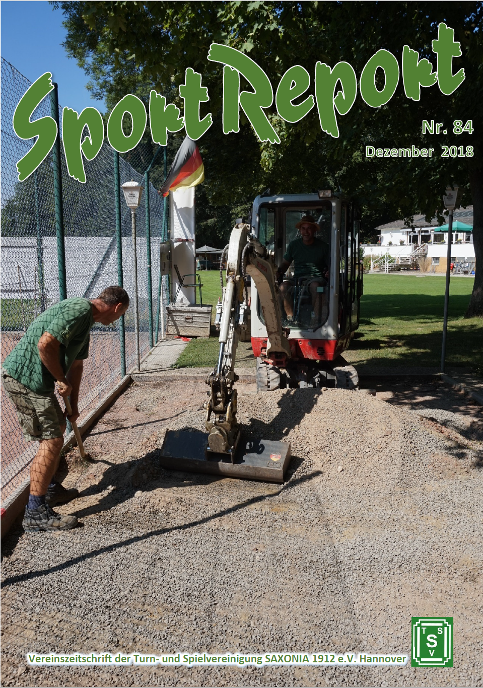 SportReport Nr.82 (Cover)