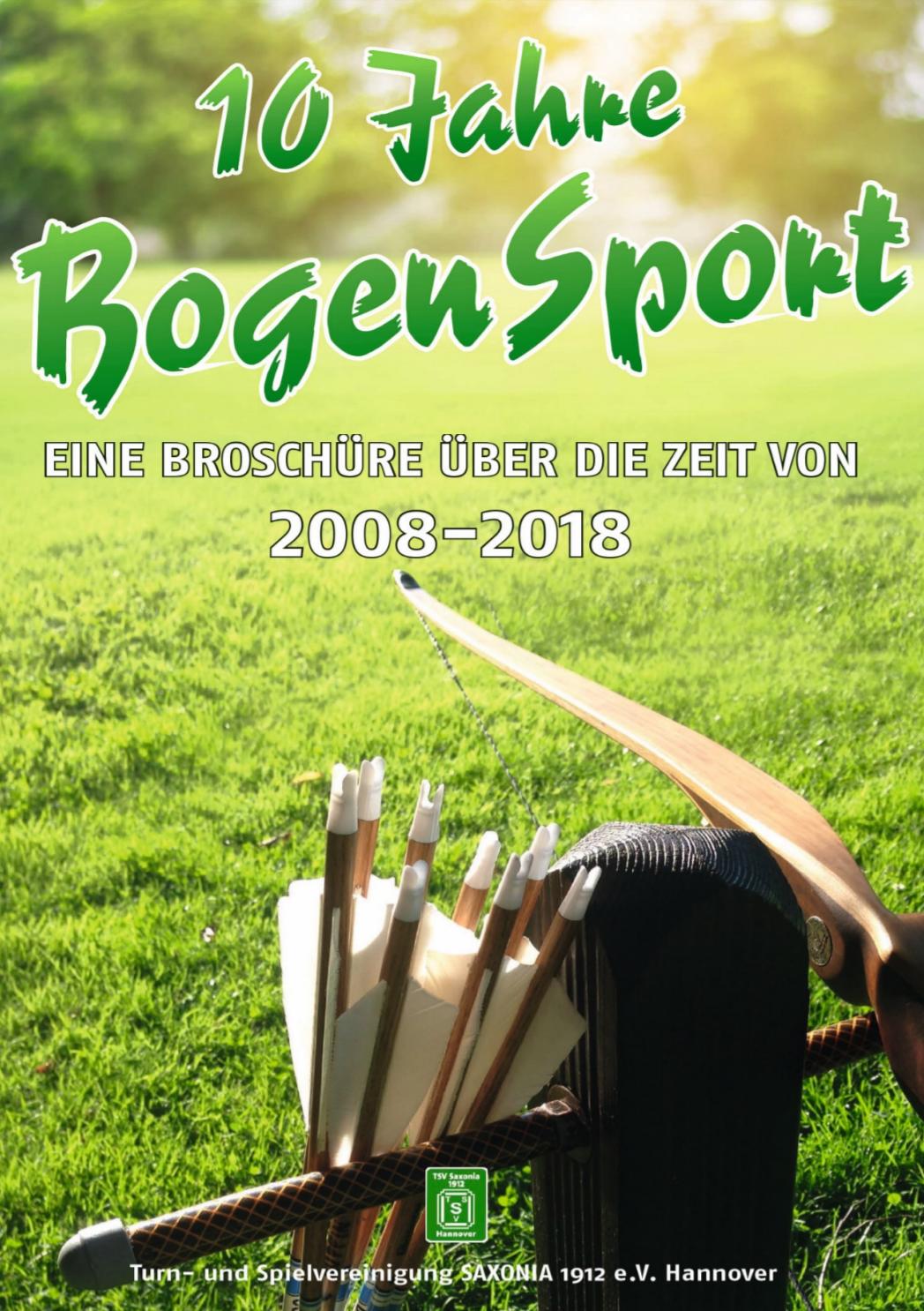 10 Jahre BogenSport 2018 (Cover)