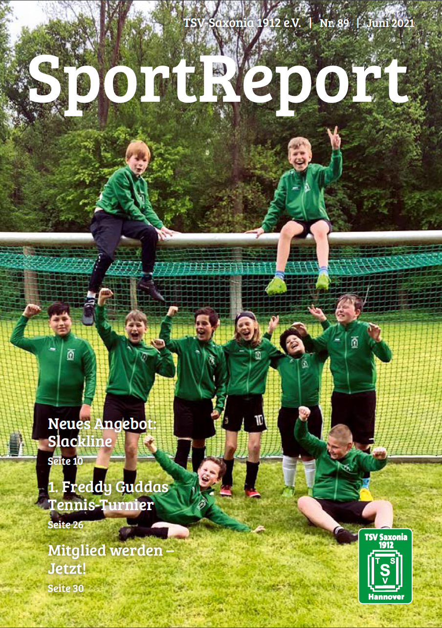 SportReport Nr.89 (Cover)